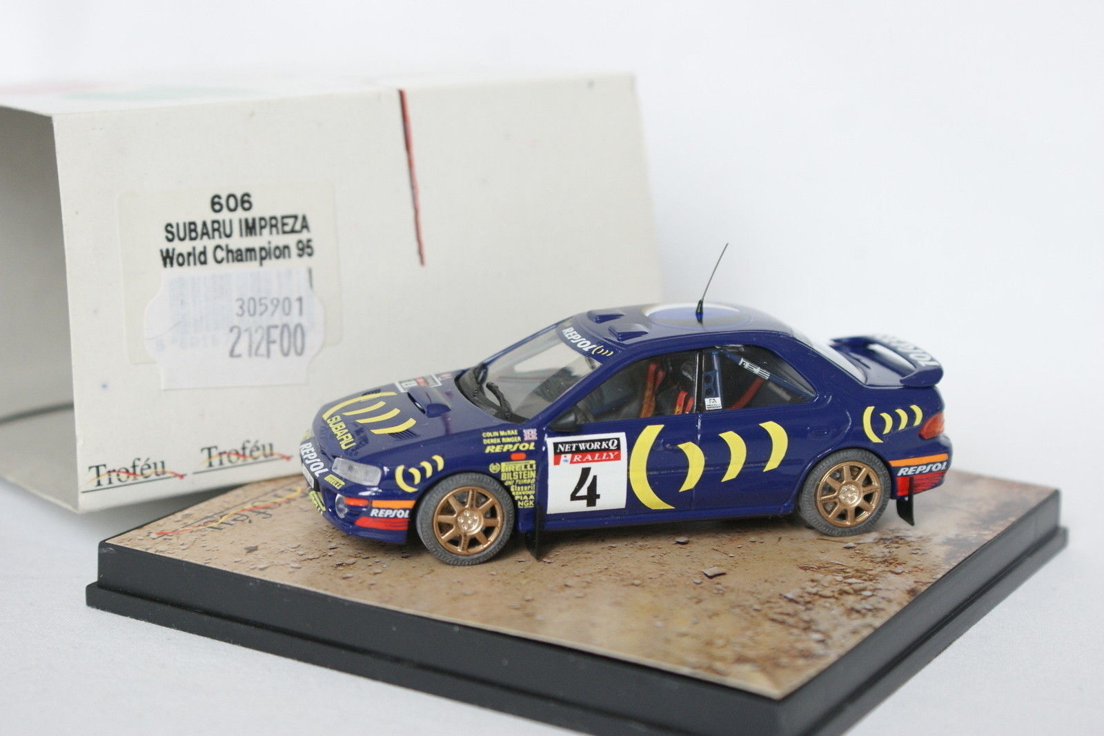 Trofeu 1 43 - Subaru Impreza World Champion 1995