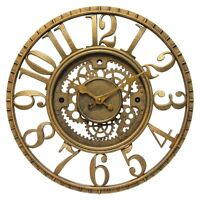 Infinity Instruments Gear - Open Dial Resin Clock , New, Free Shipping