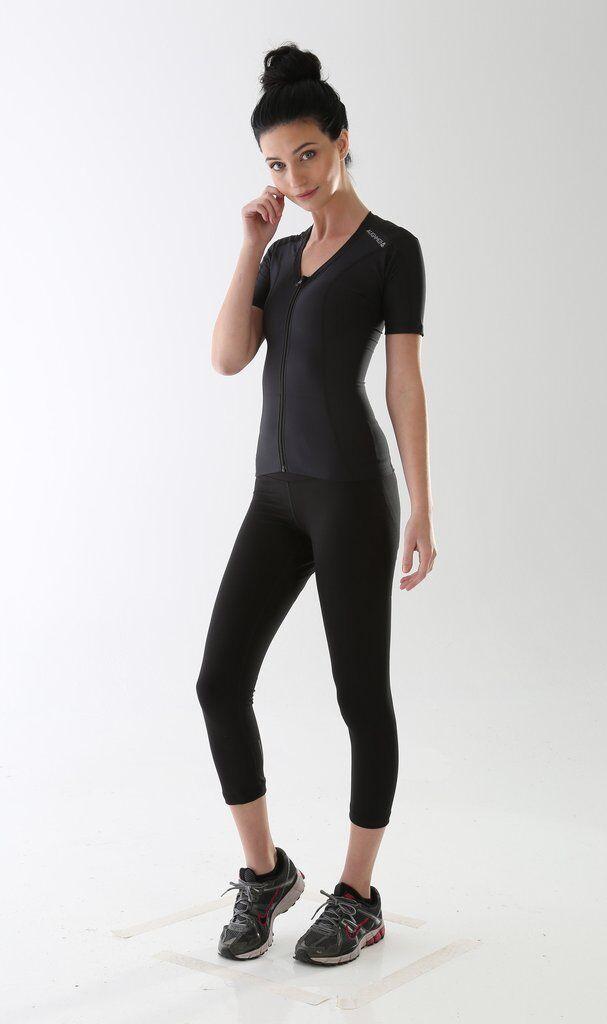Alignmed Posture Shirt Women Zipper Shirt