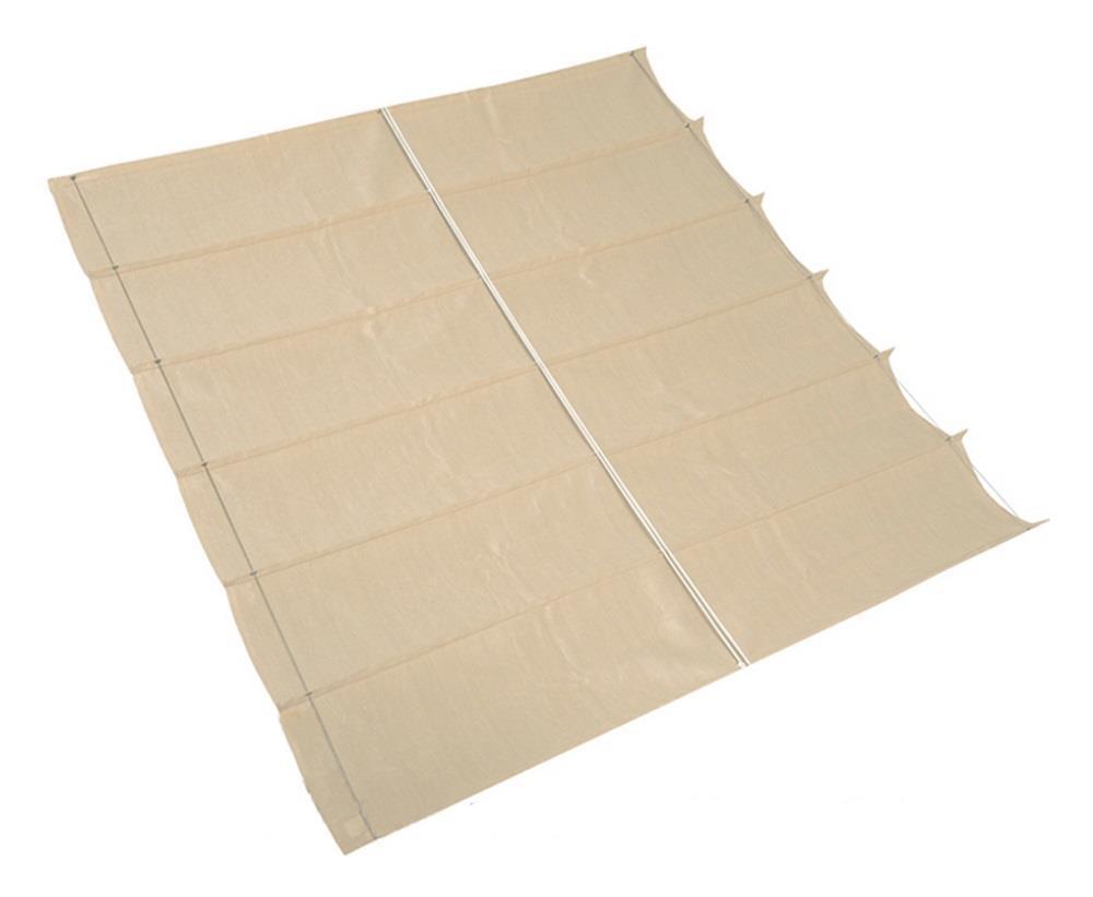 Nesling Coolfit Faltsonnensegel Sonnenschutz wasserdurchlässig 2,90x3m Off-Weiß