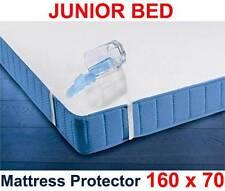 Wasserdichte Matratzenschoner 160 x 70cm/Junior Bett Atmungsaktiv Terry Laken