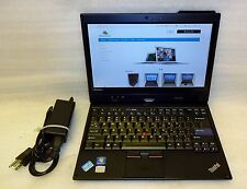 Lenovo ThinkPad X220 Windows 7 Tablet 160GB SSD Core i7 2.8GHz 4GB Camera IPS