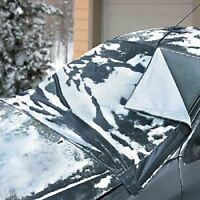 Car Water-repellent 7 Magnetics Auto Snow Ice Windshield Cover W. Storage Pouch