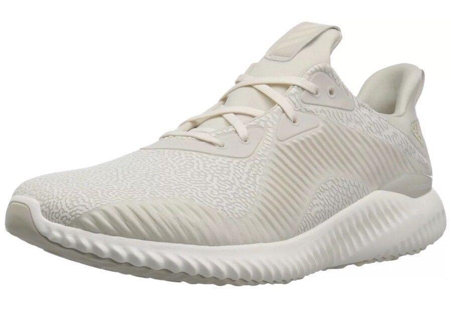 Adidas Alphabounce HPC AMS M Running Shoes Clear Brown / White Sz 10.5 DA9560