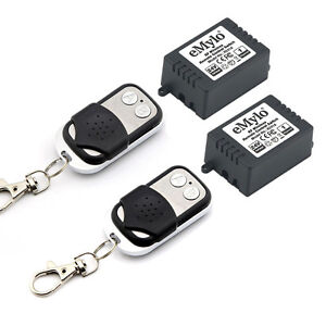 2X1CH-Wireless-Remote-Control-Switch-DC-24V-Inching-Self-locking-Two-Transmitter