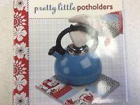 Pretty Little Potholders Pattern Book