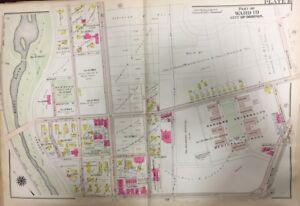 1906 GW BROMLEY BOSTON ROXBURY, MA, HARVARD UNIVERSITY MEDICAL ... Harvard Medical Campus Map on