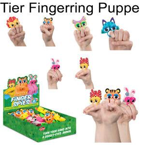 Yeux fingerring wackelaugen Enfants Animaux doigt poupées Mitgebsel espions plaisir  </span>