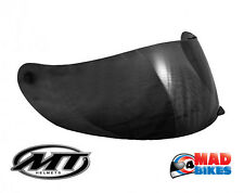 New Dark Smoked Visor for the MT Blade SV Boss Motorcycle Crash Helmet.
