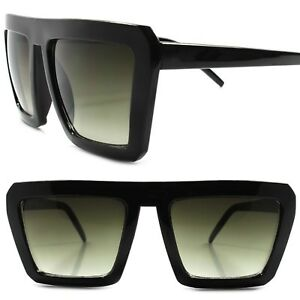 7324c484519 Details about Classic Vintage Retro 80s 90s Swag Hip Hop Mens Womens Square  Black Sunglasses