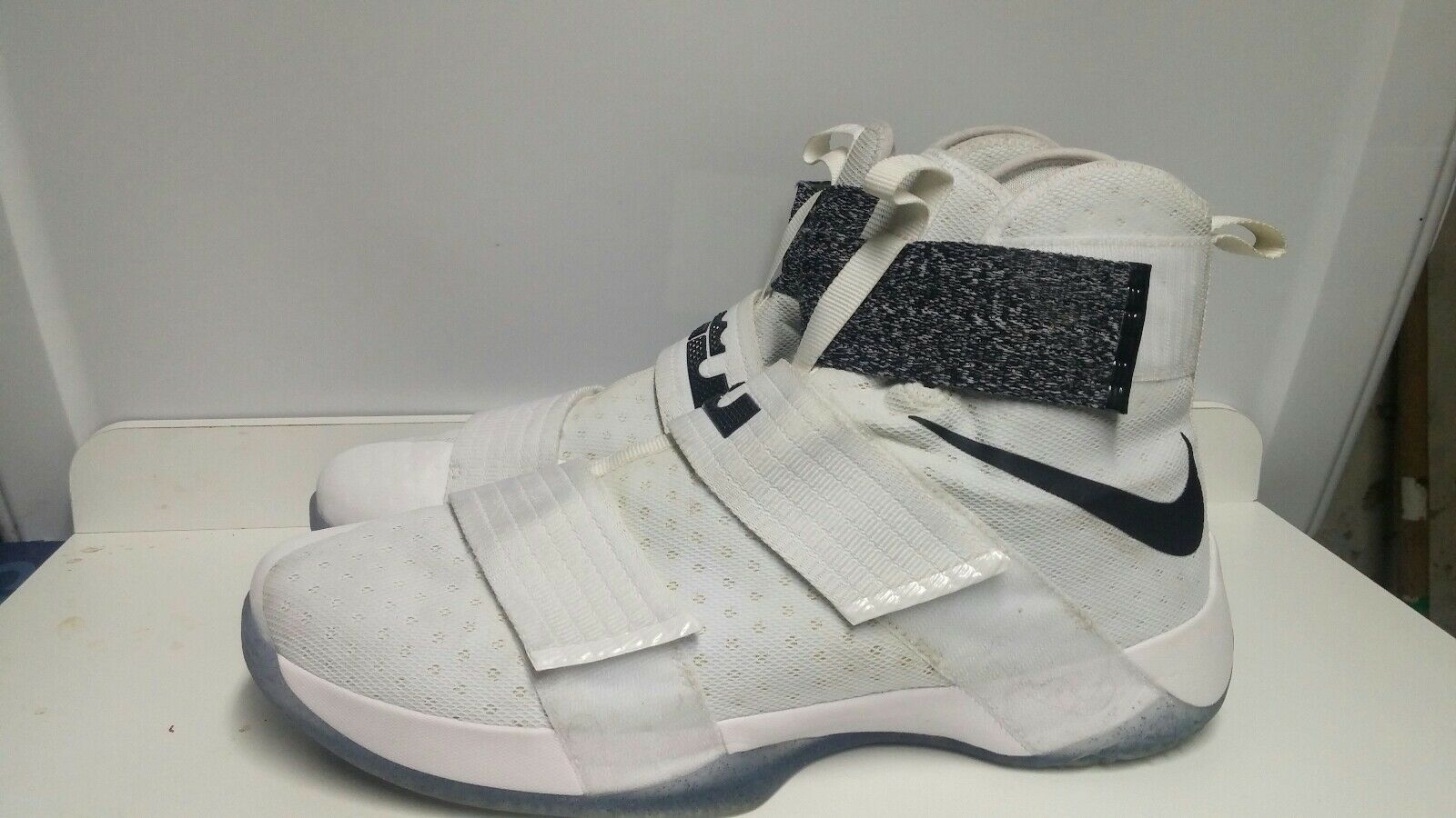 new style 7f06f 68c91 NIKE Lebron James Soldier X Men Basketball shoes Sz US 17