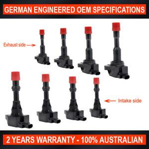 Set-of-8-OEM-Quality-Ignition-Coil-for-Honda-Jazz-Fit-Civic-1-3L-Hybrid-LDA-L13A