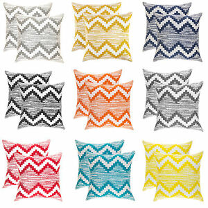 treewool 2 pack throw pillow covers in cotton canvas