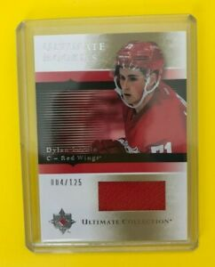 Dylan-Larkin-2015-16-Ultimate-Collection-Rookies-Jersey-125-Detroit-Red-Wings