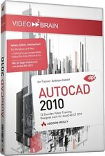 video2brain AutoCAD 2010, 13 Stunden Video-Training auf DVD, NEU