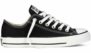 ce29ae751591 Converse Chuck Taylor Star Black White Ox Top Mens Womens Skate ...