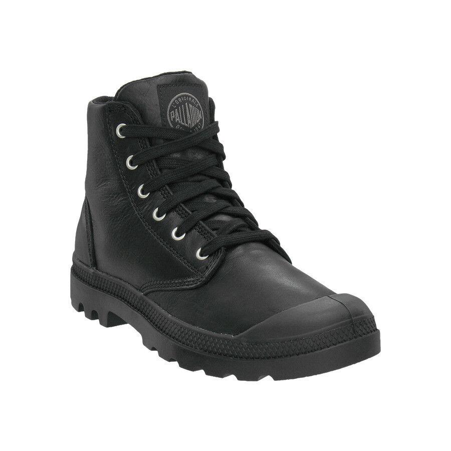 Men/'s Palladium Pampa Hi Canvas Boot Stonewash Metal 02352090