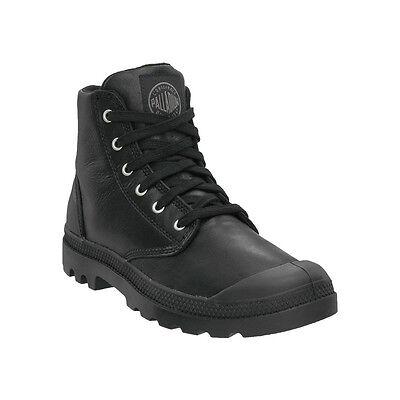 Palladium Pampa Hi Cuir Noir Bottes Chaussures Homme | eBay