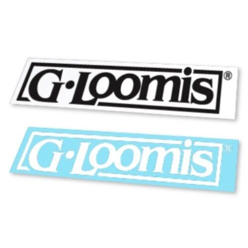 G.LOOMIS  BOAT BLOCK STICKER