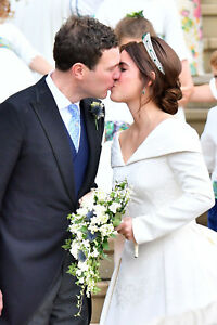 Royal Wedding Kiss.Details About Princess Eugenie Jack Brooksbank Royal Wedding Kiss Fridge Magnet 5 X 3 5