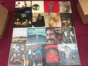 7-Classic-Rock-VG-Record-LOT-60s-70s-Albums-Mixed-Vinyl-Artist-Bands-Music