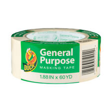 Duck 286504 General Use Masking Tape 188 In X 60 Yd Pack Of 12