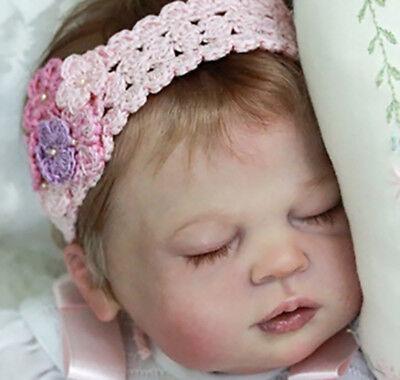 """Ivy Jane By Melody Hess Nuovo Kit Di Bambola Baby Reborn @ Le @ 22"""" @vinyl Solo Parti-mostra Il Titolo Originale"""