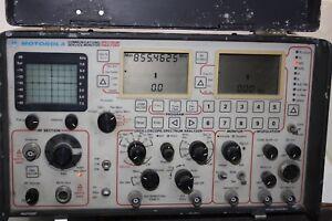 Motorola-R-2400A-HS-220V-Communications-Service-Monitor-Spectrum-Analyzer
