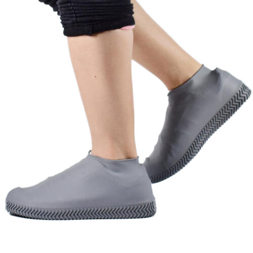 Waterproof Shoe Covers Boots Non-slip Outdoor Cycling Foldable For Kid Men Women