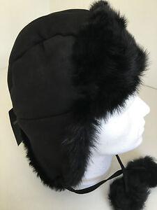 eb9cda499c2 Paul Smith Trapper Hat 100% SHEEPSKIN