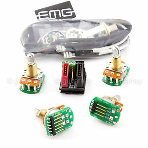 new emg solderless wiring conversion kit for 1 2 pickups hz passive short shaft ebay. Black Bedroom Furniture Sets. Home Design Ideas