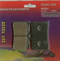 Praga Disc Brake Pads Supermotard 610 2003 Front (1 Set)