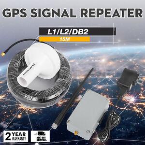 GPS Signal Repeater Amplifier Transfer 25M Antennen-Kit für den Innenbereich L1