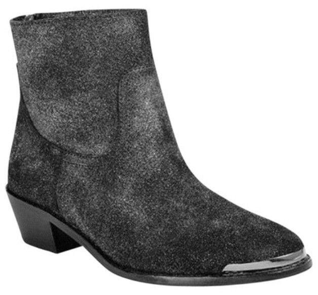 A.B.S. by Allen Schwartz Persiphone Leather Metallic Boots, size 8B, NIB