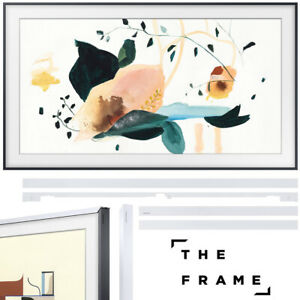 """Samsung The Frame 3.0 50"""" QLED Smart 4K UHD TV 2020 Model with 50"""" Bezel White"""