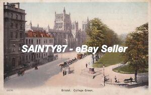 BRISTOL-College-Green-Bristol-Postcard