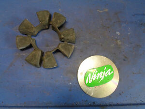 1985 ZX600 ZX 600 gpz ninja OEM rear hub Cush Drive Rubber drives 85 86