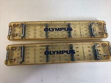 Olympus Wa05990a Autoclave Tray Lot Of 2 Scope Trays Oem Used