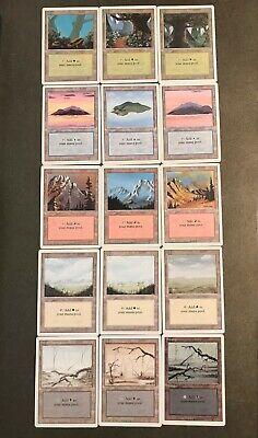 MTG 25x Mountain Basic Land Lot x25 LP