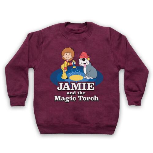JAMIE AND THE MAGIC TORCH RETRO KIDS TV SHOW CARTOON ADULTS /& KIDS SWEATSHIRT
