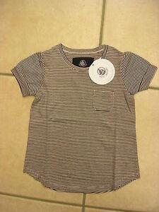 marine oder rot geringelt T-Shirt mit kurzem Arm NEU! von Petit Bateau