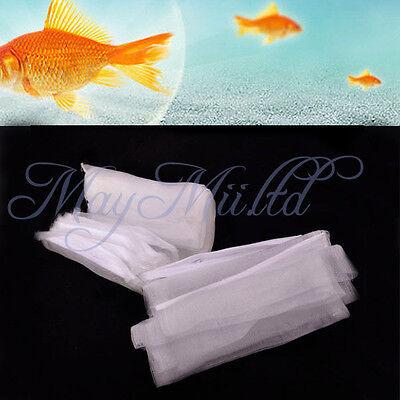 5x Aquarium Filter ZIPPED Net Mesh Bag Fish Tank zip Filter Media Bags Hot SaleZ