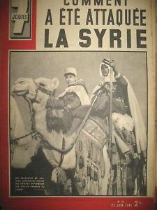 N-38-SYRIE-MEHARISTES-DENTZ-MARSEILLE-HAMEAU-DE-LA-CHANSON-MAYOL-7-JOURS-1941