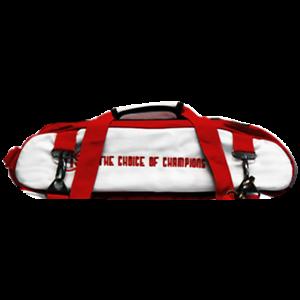 Vise Bowling Schuh Tasche für 3 Ball Tasche weiß-rot white-red
