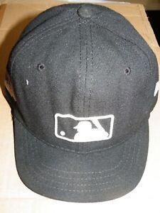 952f6969195 2016 MLB POST SEASON NEW ERA GAME USED UMPIRE CAP HAT DAN BELLINO