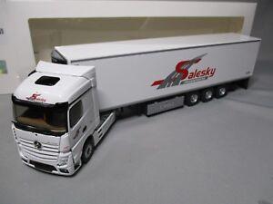 Dv7813 Eligor 1/43 Mercedes Actros Mp4 Frigorifique Transports Salesky 115034