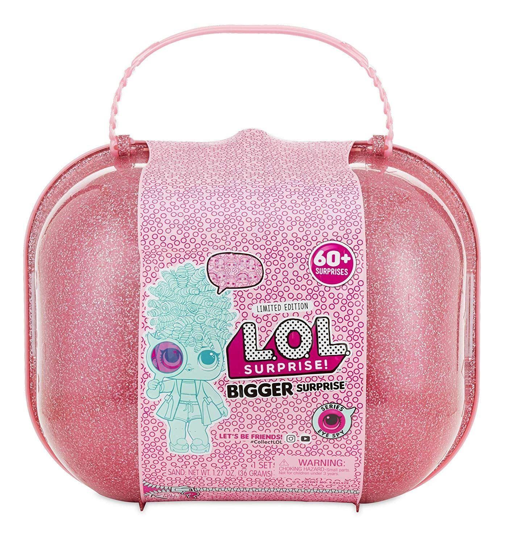 L.O.L. Surprise Bigger Surprise Series Eye Spy 60+ Surprises Toy Dolls