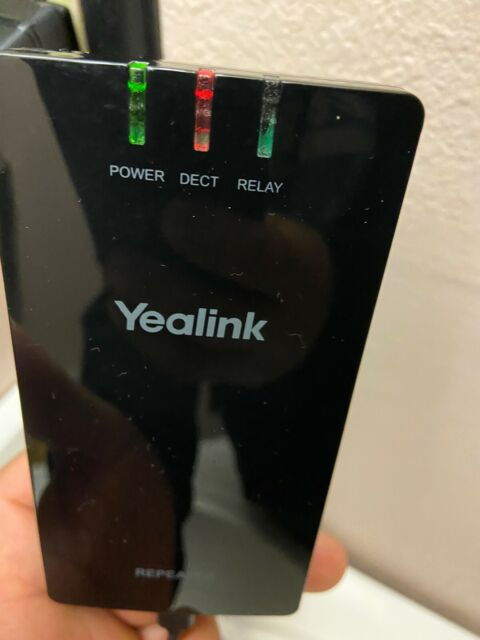 Yealink RT20U Repeater for W52P W56P HD IP Dect Phones Compatible with DECT GAP