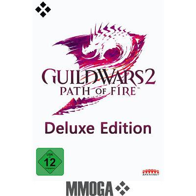Guild Wars 2 II Path of Fire Deluxe Edition Key - PC Download Code GW2 [EU/DE]