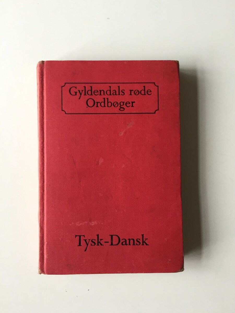 ordbog tysk dansk gyldendal
